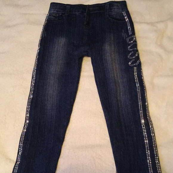 Pants - Jean leggings new without tags silver studs